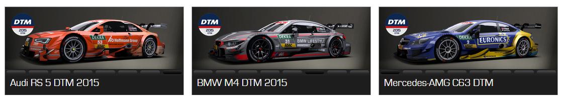 Setup DTM 2015 RaceRoom