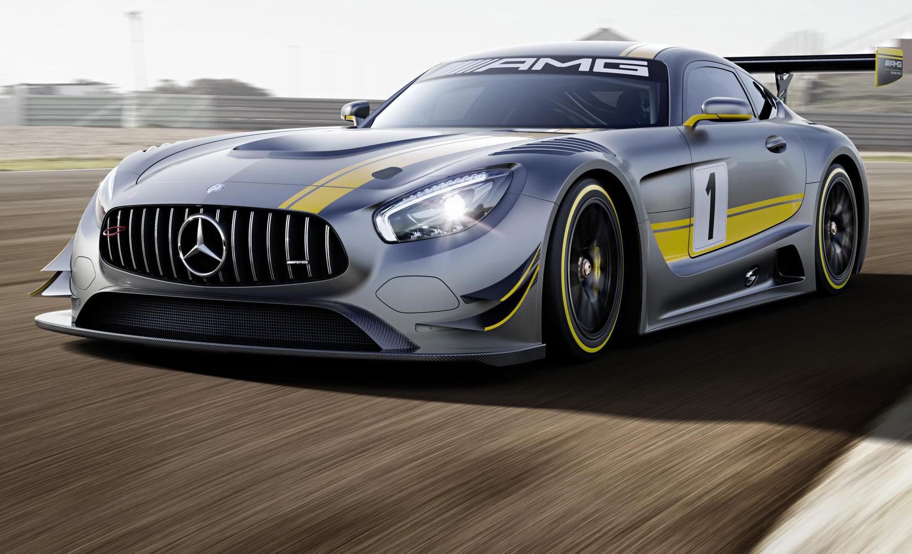 RaceRoom nouvelle Mercedes AMG GT3