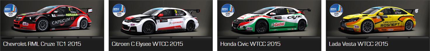 Setup WTCC 2015 RaceRoom