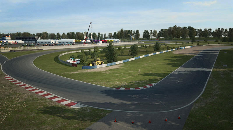 Mantorp Park pour RaceRoom en développement