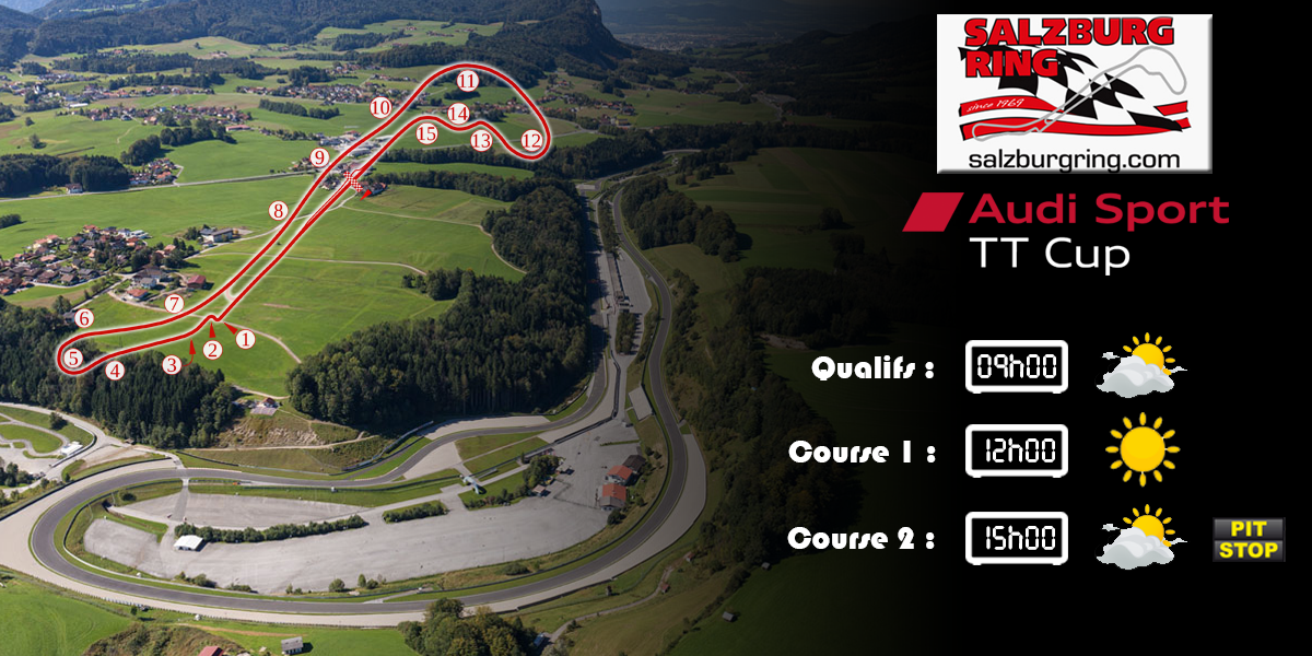 Audi TTcup 2016 RaceRoom Salzburgring 14-03-2017