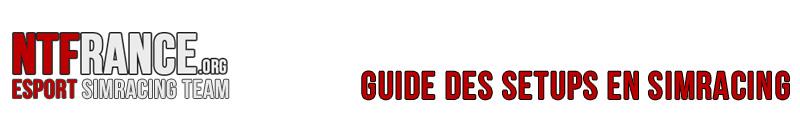 Guide des setups en SimRacing