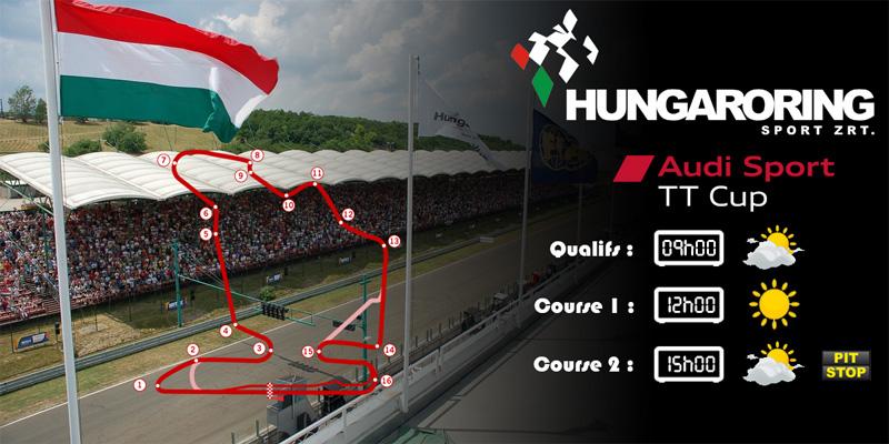 Audi TTcup 2016 RaceRoom Hungaroring 09-05-2017