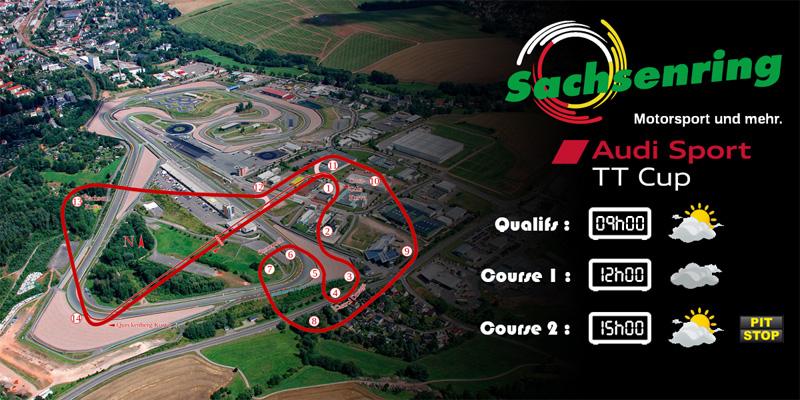 Audi TTcup 2016 RaceRoom Sachsenring 23-05-2017