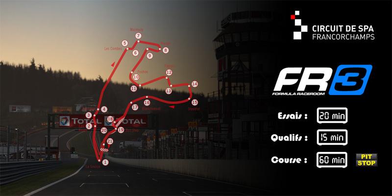 SRFR Formula RaceRoom 3 Monza 18-08-2017