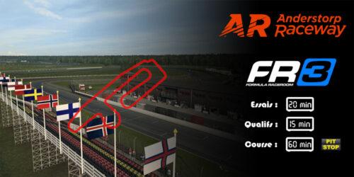 SRFR Formula RaceRoom 3 Anderstorp 15-08-2017