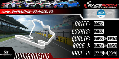 WTCC 2017 – Hungaroring – 02 OCTOBRE 2017