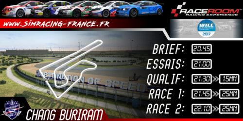 RaceRoom WTCC 2017 – Chang International – 30 OCTOBRE 2017