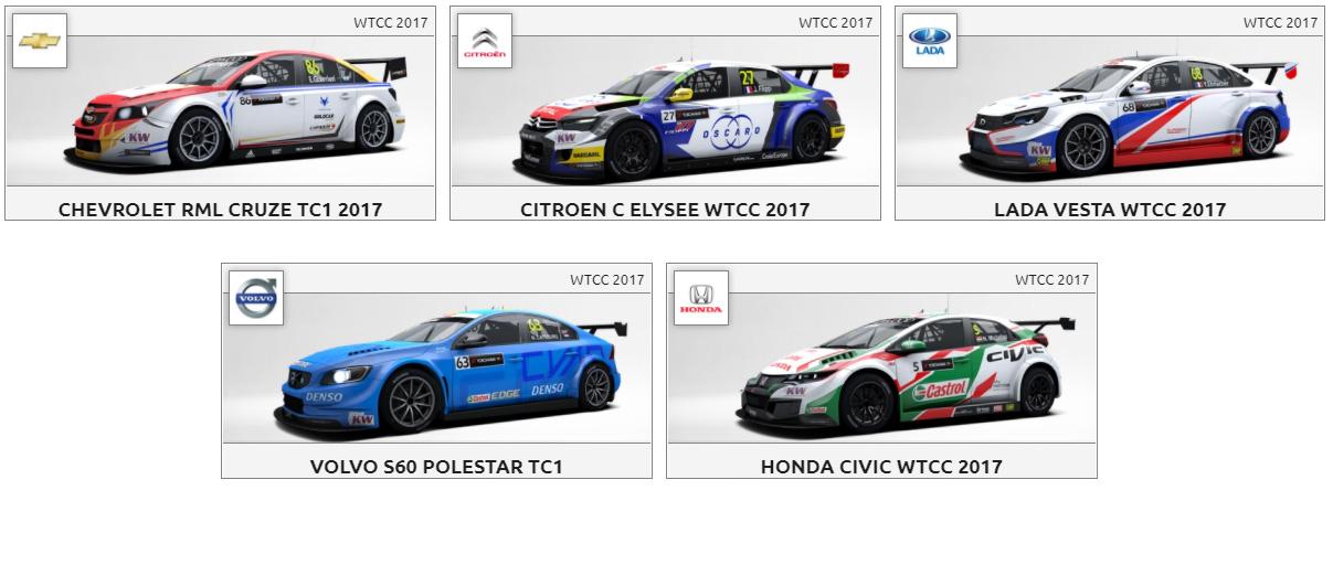 setup raceroom wtcc 2017