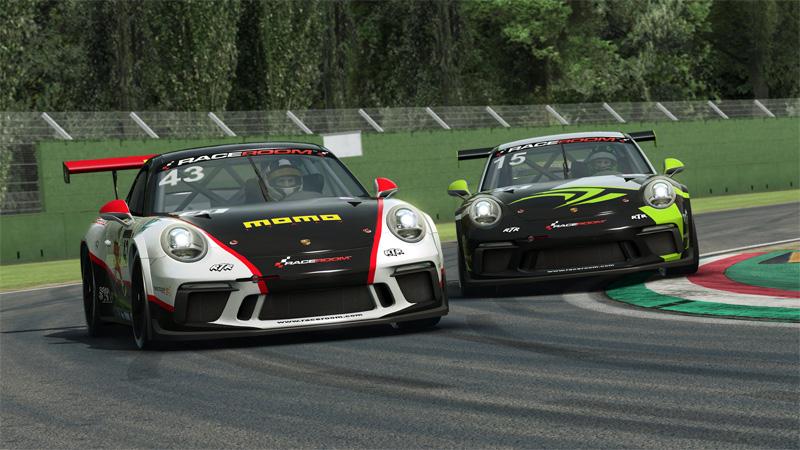 RaceRoom Porsche cup 2018 SRFR : Lancement de la saison