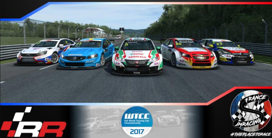 RaceRoom WTCC 2017 – Shangai Intermediate – 27 NOVEMBRE 2017