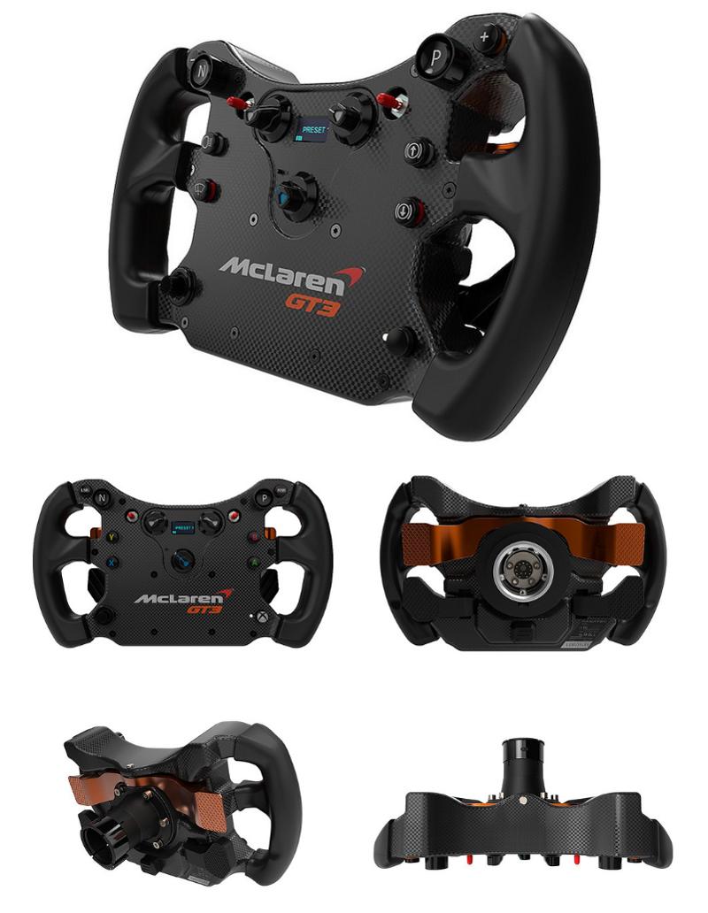 Précommande volant Fanatec CSL Elite McLaren GT3