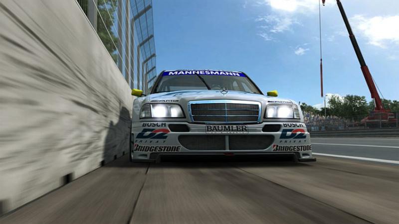 RaceRoom mise a jour Mercedes AMG C-Klasse DTM 1995
