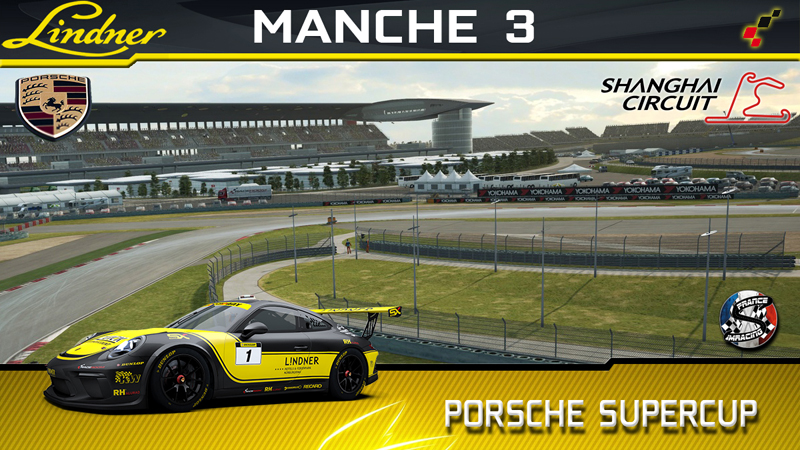 RaceRoom Porsche cup 2018 SRFR : Meeting 3 Shangai