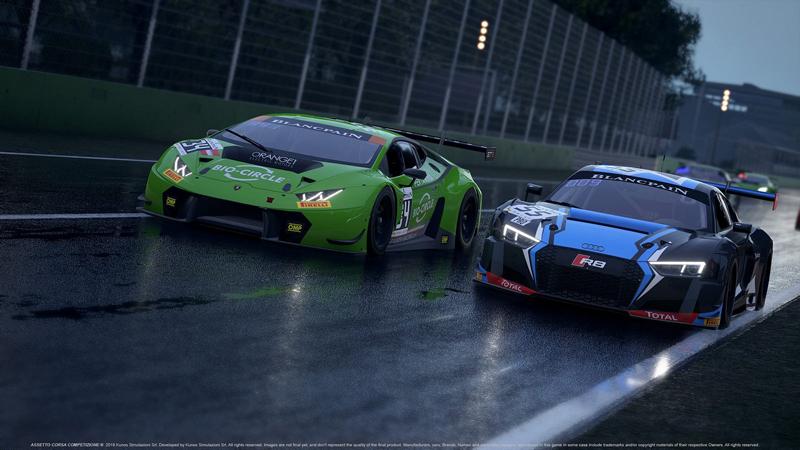Assetto Corsa Competizione, plus d'information