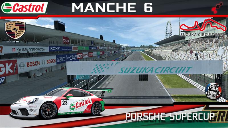 RaceRoom Porsche cup 2018 SRFR : Meeting 6 Suzuka