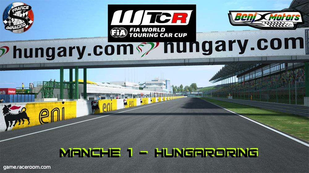 SRFR – FIA WTCR 2018 Manche 1 : Hungaroring – 6 septembre 2018
