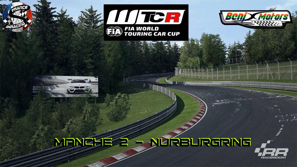 SRFR – FIA WTCR 2018 Manche 2 : Nurburgring – 20 septembre 2018