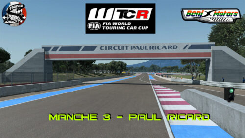 SRFR – FIA WTCR 2018 Manche 3 : Paul Ricard – 04 Octobre 2018