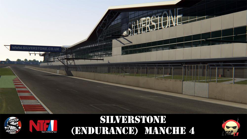 SRFR – BlancPain GT3 – Manche 4 Silverstone Endurance – 24 Octobre 2018
