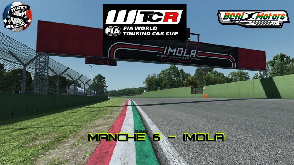 SRFR – FIA WTCR 2018 Manche 6 : Imola – 15 Novembre 2018