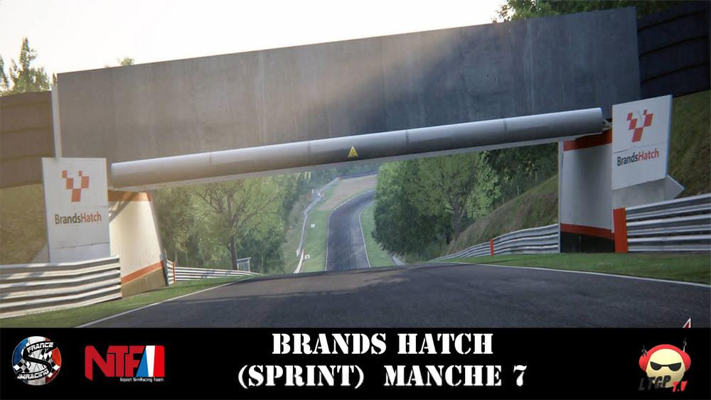 SRFR – BlancPain GT3 – Manche 7 Brands Hatch – 05 Décembre 2018