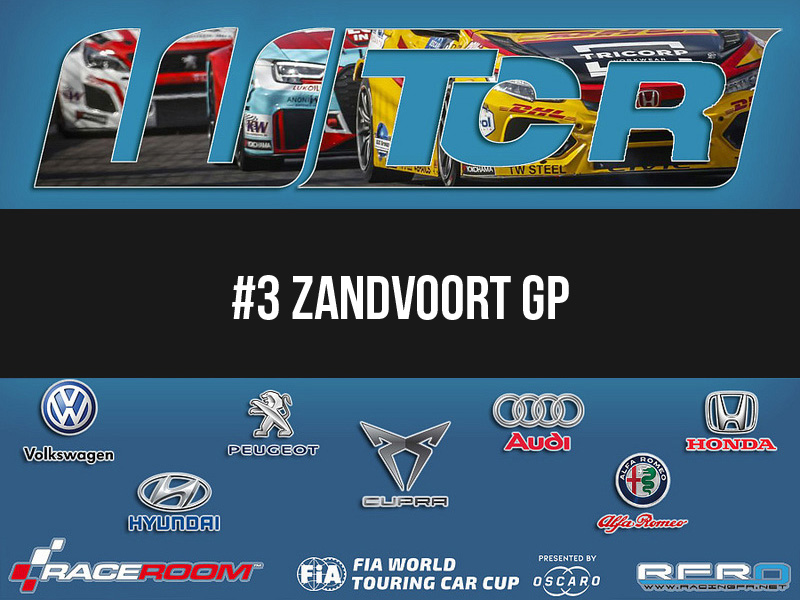RFRO – FIA WTCR 2018 Manche 3 : Zandvoort GP – 06 Février 2019