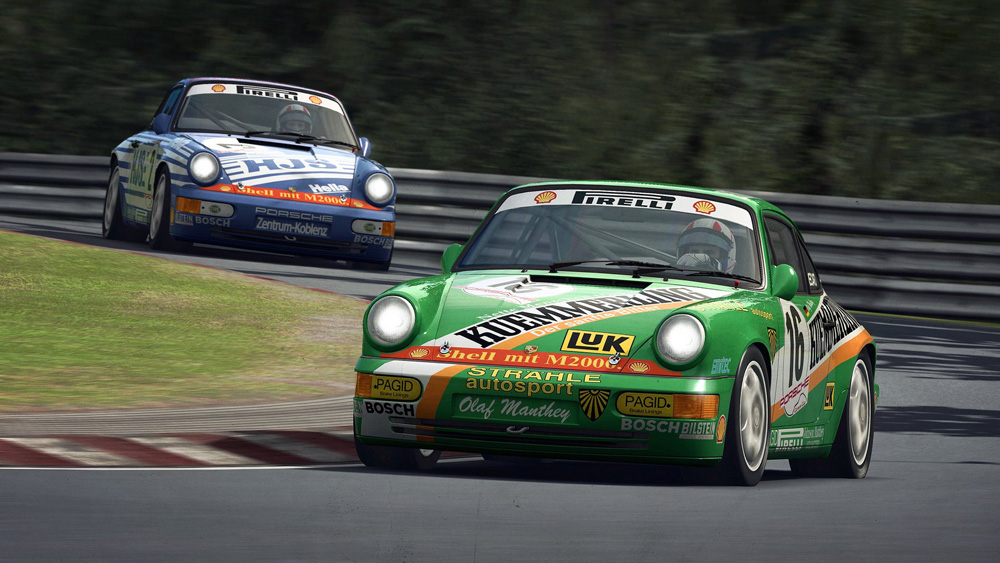Porsche 911 Carrera Cup 964 sur RaceRoom