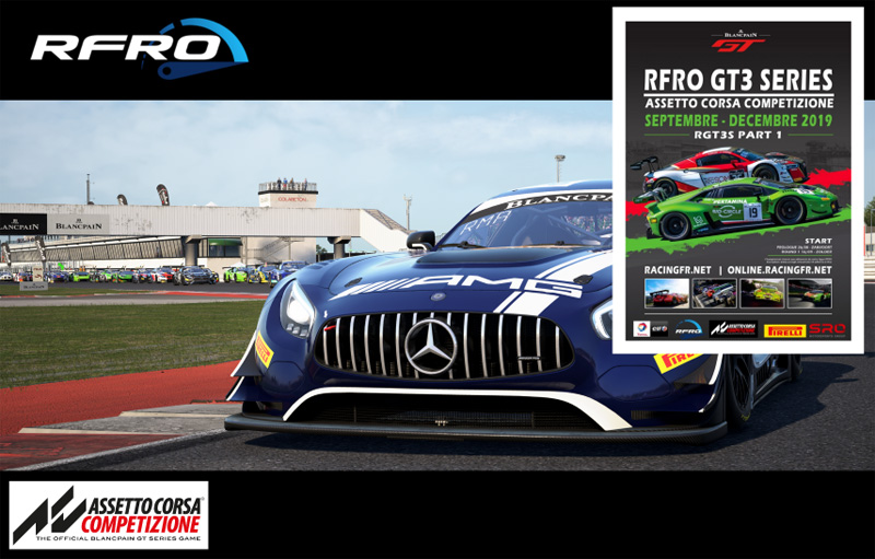 RFRO GT3 Series Part 1 2019 Prologue : Misano