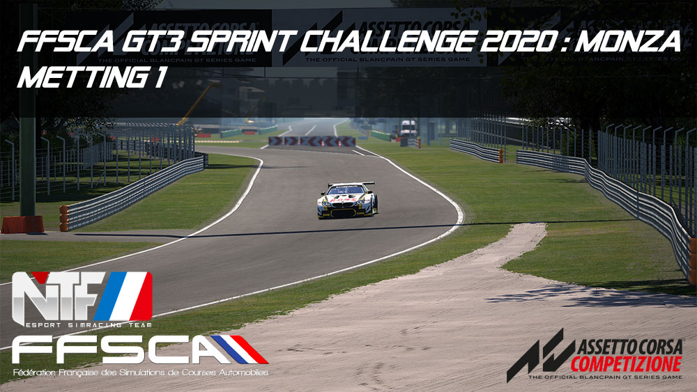 FFSCA GT3 Sprint Challenge 2020 M1 Monza
