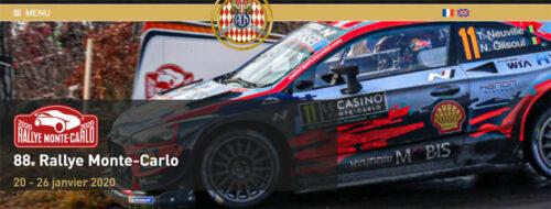 WRC Monte Carlo 2020