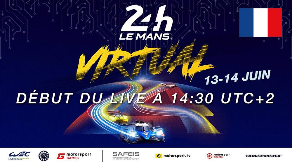 24 H du Mans Virtuel 2020