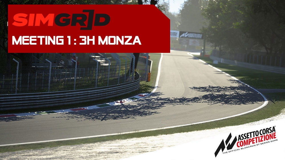 SimGrid Endurance Cup 2020 Monza