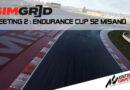 SimGrid Sprint CUP S2 : Retour en piste