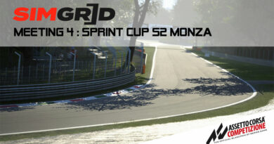 SimGrid Sprint CUP S2 Monza