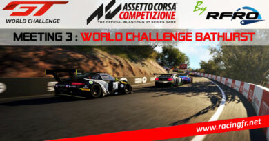 RFRO World Challenge ACC :  podium sur Bathurst 2020